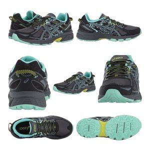 asics GEL-VENTURE 6 Black/Carbon/Neon Lime Sneaker